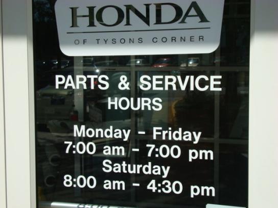 Honda Of Tysons Corner Car Dealership In Vienna, VA 22182 | Kelley Blue Book