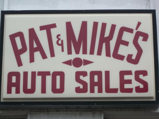 Pat and Mike's Auto Sales LLC