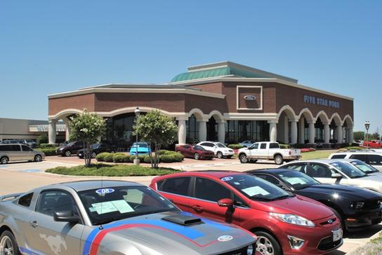 Five Star Ford North Richland Hills >> Five Star Ford In North Richland Hills Car Dealership In