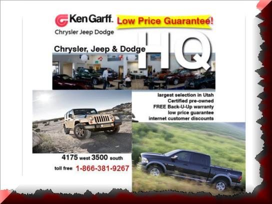 Ken Garff West Valley Chrysler Jeep Dodge Ram