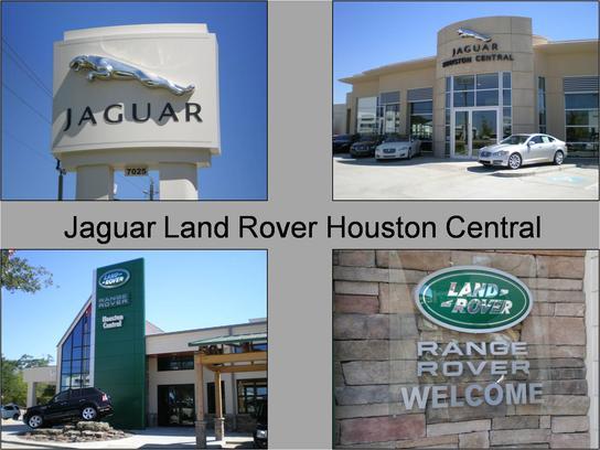 jaguar land rover houston central car dealership in houston, tx