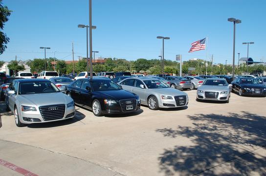 Audi Dallas Car Dealership In Dallas TX Kelley Blue Book - Audi car lot