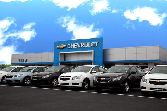 Team Chevrolet car dealership in Valparaiso, IN 46385 | Kelley Blue