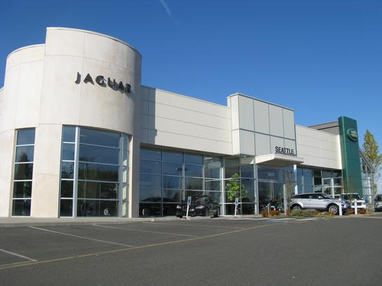 Jaguar Land Rover Seattle car dealership in Lynnwood WA 98036