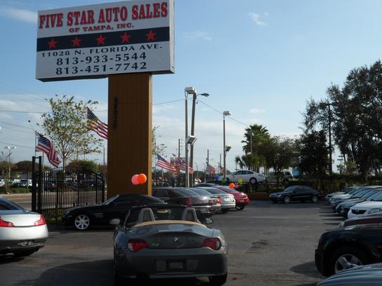 Star Auto Sales >> Five Star Auto Sales Of Tampa Car Dealership In Tampa Fl 33612