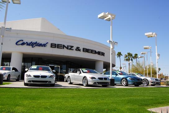 Certified Benz Beemer Phoenix Car Dealership In Scottsdale Az