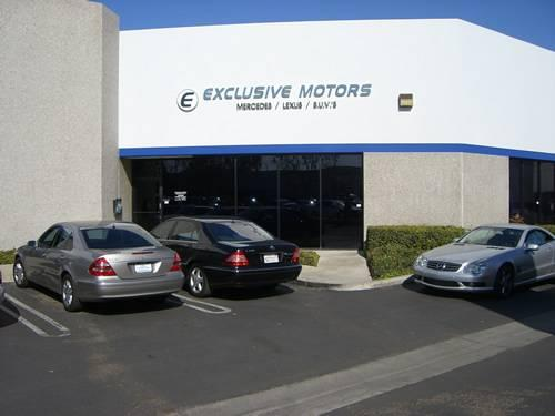 About Exclusive Motors In Placentia Ca 92870 Kelley
