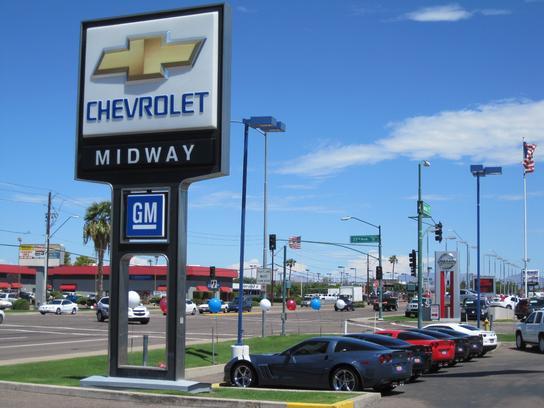 Midway Chevrolet Car Dealership In Phoenix AZ Kelley Blue - Chevrolet dealers phoenix arizona