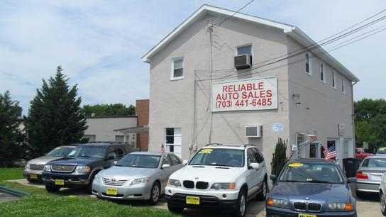 Reliable Auto Sales - VA