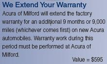 Acura Of Milford Car Dealership In Milford CT Kelley Blue - Acura extended warranty cost