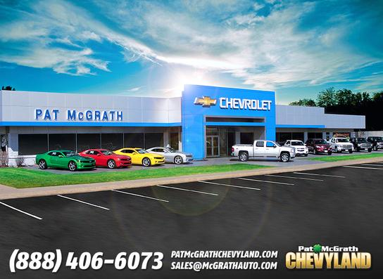 Pat Mcgrath Chevyland Car Dealership In Cedar Rapids Ia 52402