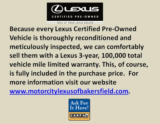 Motor City Lexus of Bakersfield 1