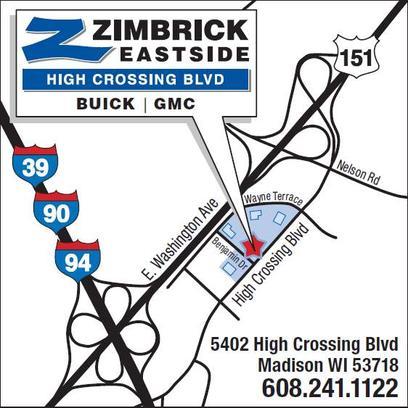 Zimbrick Buick Gmc Eastside Car Dealership In Madison Wi 53718