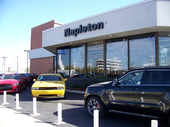 Napleton's River Oaks Chrysler Jeep Dodge car dealership in Lansing