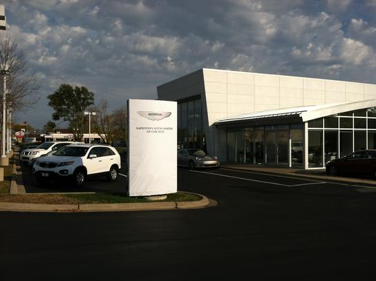 Napletons Aston Martin Of Chicago Car Dealership In DOWNERS GROVE - Aston martin dealerships