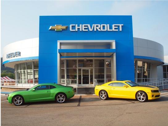 Reeder Chevrolet Car Dealership In Knoxville Tn 37912 5625 Kelley Blue Book