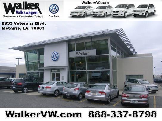 Walker Volkswagen car dealership in METAIRIE, LA 70003 | Kelley Blue