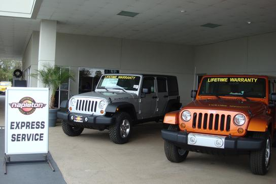 Napleton Clermont Chrysler Jeep Dodge RAM car dealership in Clermont