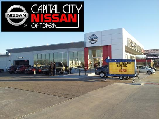 Capital City Nissan car dealership in Topeka, KS 66612 | Kelley Blue