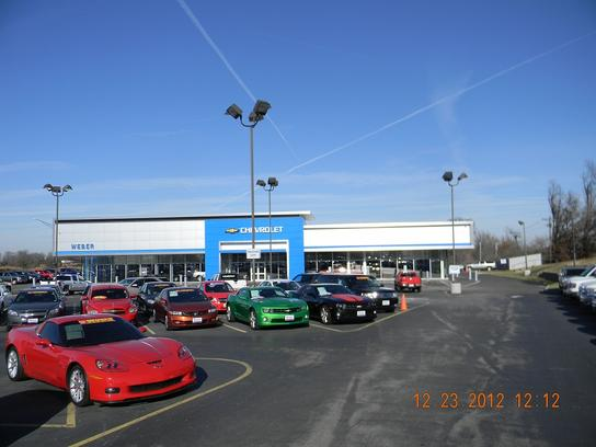 Weber Chevrolet Car Dealership In Creve Coeur Mo 63141 Kelley Blue Book