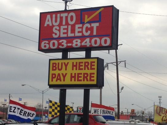 Buy Here Pay Here Okc >> Auto Select Car Dealership In Oklahoma City Ok 73122