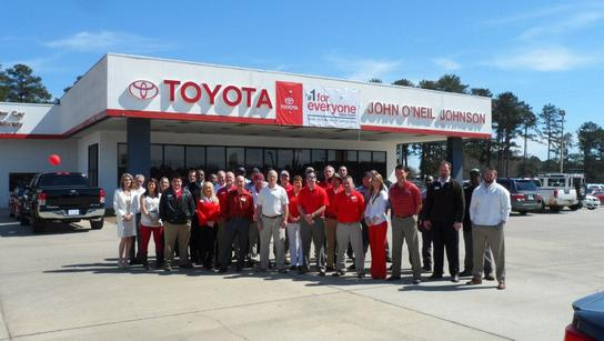 John Oneil Johnson Toyota >> John O Neil Johnson Toyota Car Dealership In Meridian Ms 39302