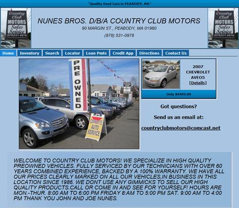 Country Club Motors 1
