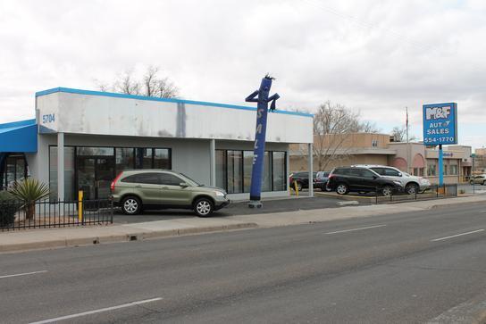 m f auto sales lomas car dealership in albuquerque nm 87110 kelley blue book. Black Bedroom Furniture Sets. Home Design Ideas