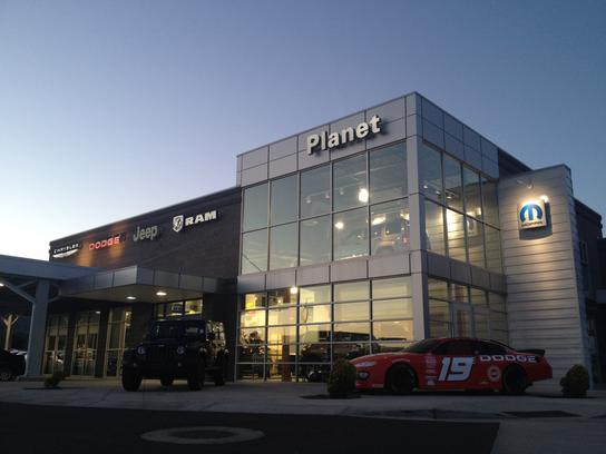 Dealership Photos | Map. Planet Chrysler Dodge ...