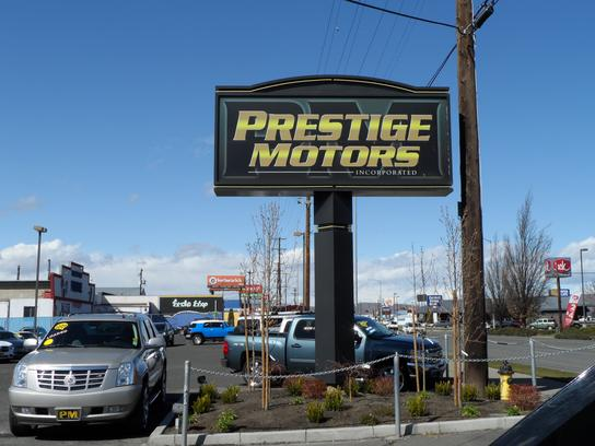 Kelley blue book for Prestige motors yakima wa