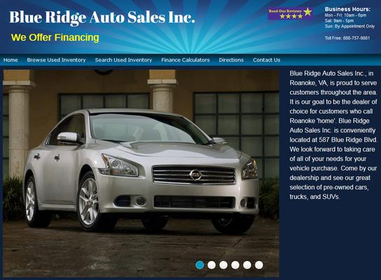 Blue Ridge Auto Sales, Inc