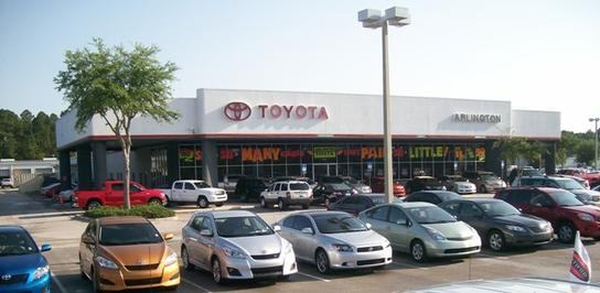Toyota Jacksonville Fl >> Arlington Toyota Car Dealership In Jacksonville Fl 32225