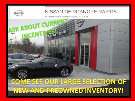 Nissan Of Roanoke Rapids >> Car Dealership Specials At Nissan Of Roanoke Rapids In