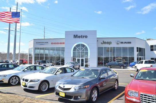 Metro Chrysler Dodge Jeep Ram car dealership in Chicopee, MA 01020-5053 | Kelley Blue Book