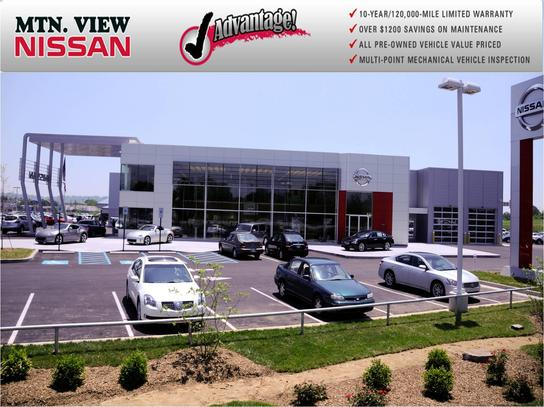 mountain view nissan super center car dealership in chattanooga, tn