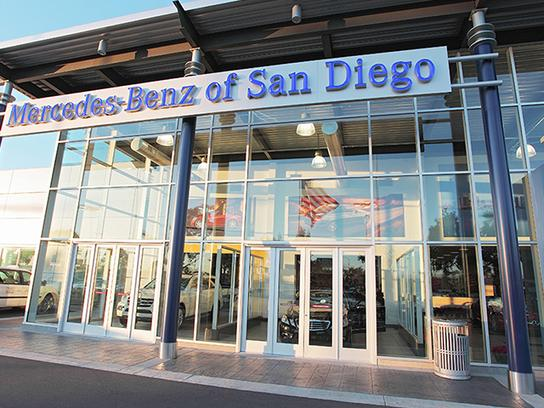 mercedes-benz of san diego car dealership in san diego, ca 92111