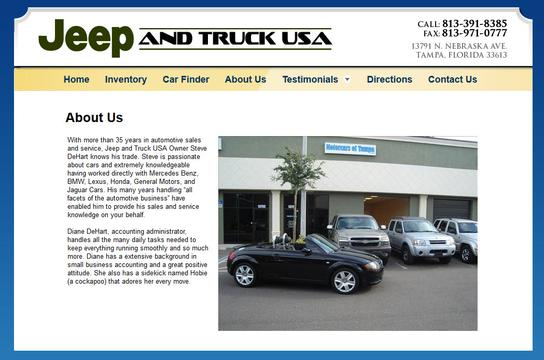 Jeep And Truck Usa 1 2