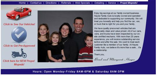 Hayes Auto Watertown Wi >> Hayes Family Auto Car Dealership In Watertown Wi 53094 Kelley