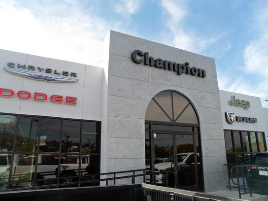 Amazing Champion Chrysler Jeep Dodge Ram