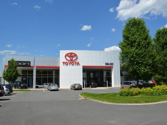 Balise Toyota Car Dealership In West Springfield Ma 01089 Kelley Blue Book