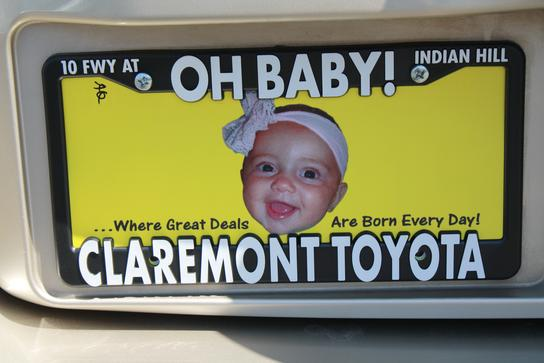 Oh baby toyota in claremont