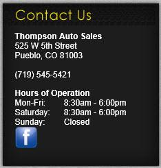 Thompson Auto Sales 2