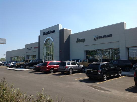 Napletons Arlington Heights Chrysler Dodge Jeep RAM car dealership