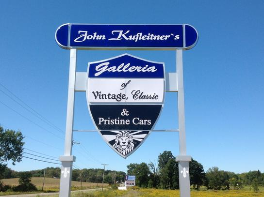 John Kufleitner's Galleria of Vintage, Classics & Pristine Cars