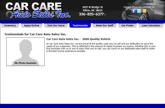 CAR CARE AUTO SALES INC