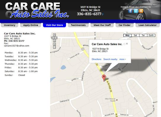 CAR CARE AUTO SALES INC 2