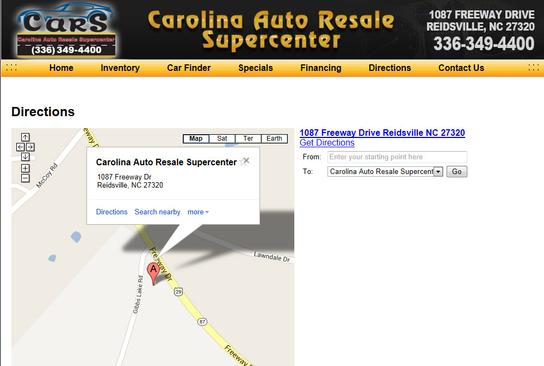 Carolina Auto Resale Supercenter