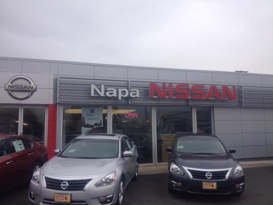 Napa Nissan car dealership in Napa, CA 94559 | Kelley Blue Book
