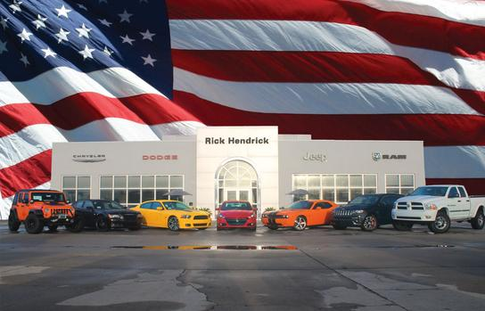 Rick Hendrick Jeep Chrysler Dodge Ram FIAT
