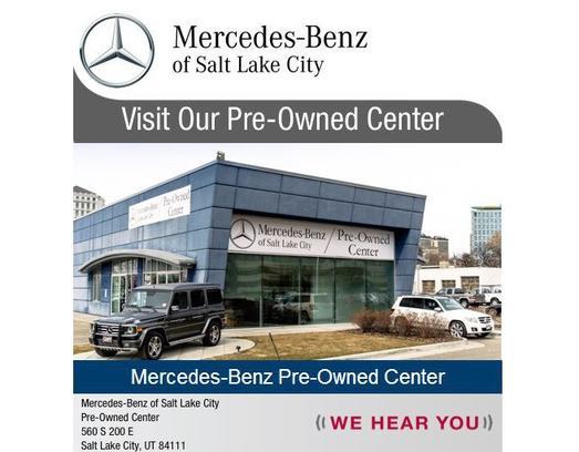 Mercedes Benz Of Salt Lake City